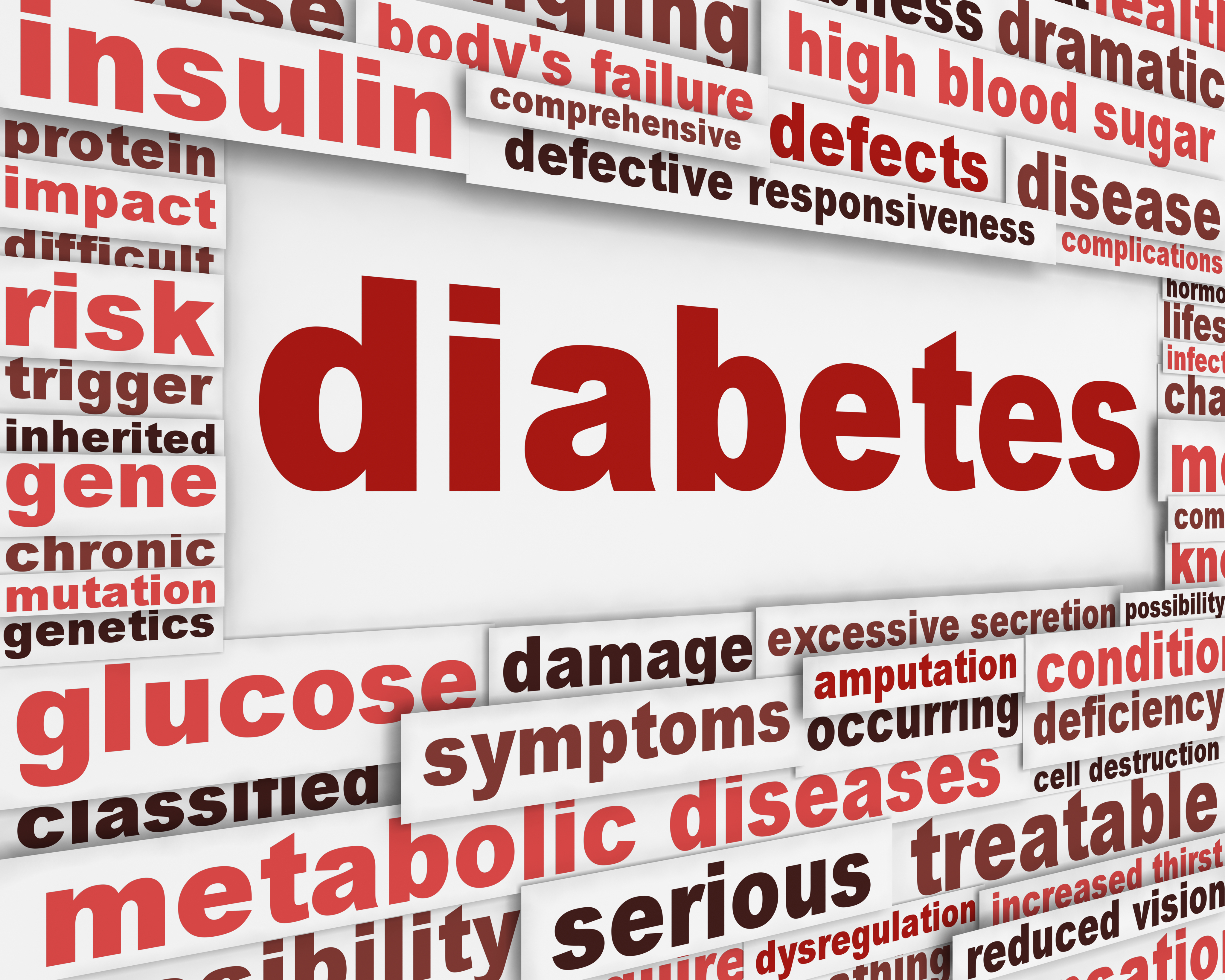 Does type 2 diabetes cause amputation